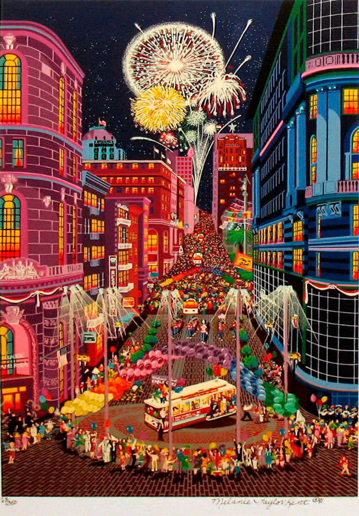 Return of the CABLE CARS 1991  by Melanie Taylor Kent