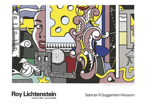 ROY LICHTENSTEIN  Go for Baroque,unsigned