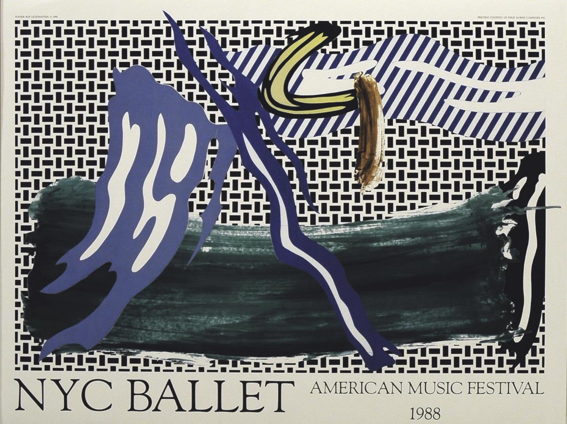 ROY LICHTENSTEIN NEW YORK CITY BALLET