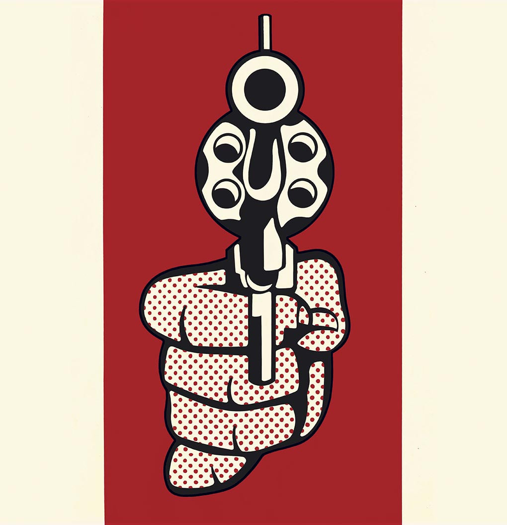 Pistol, 1968 by Roy Lichtenstein