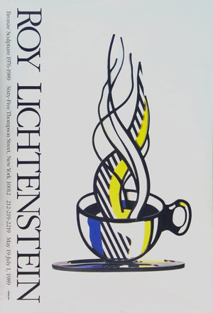 Cup and Saucer 1989  by  ROY LICHTENSTEIN
