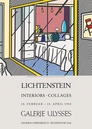 INTERIORS by ROY LICHTENSTEIN