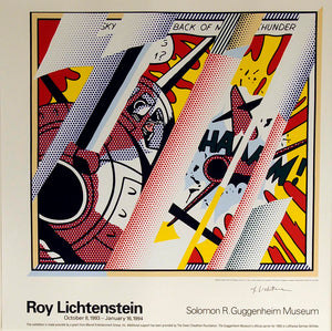 Reflaction of Whaam  by  Roy Lichtenstein