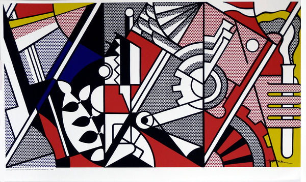 Study for Peace.. Poster by Roy Lichtenstein