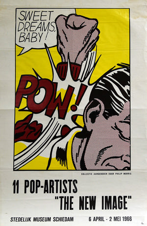 Sweet Dreams Baby POSTER by ROY LICHTENSTEIN