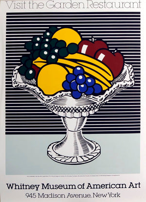 Visit the Garden Restaurant Poster by Roy Lichtenstein