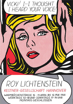 Vicki, by Roy Lichtenstein