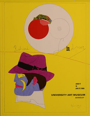 Show at the University Art Museum in Berkeley,1969 by RICHARD LINDNER