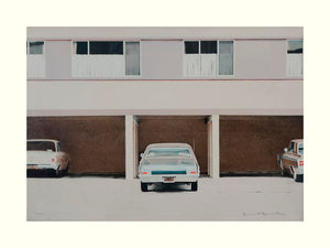 68 Nova, 1970   by Robert Bechtle