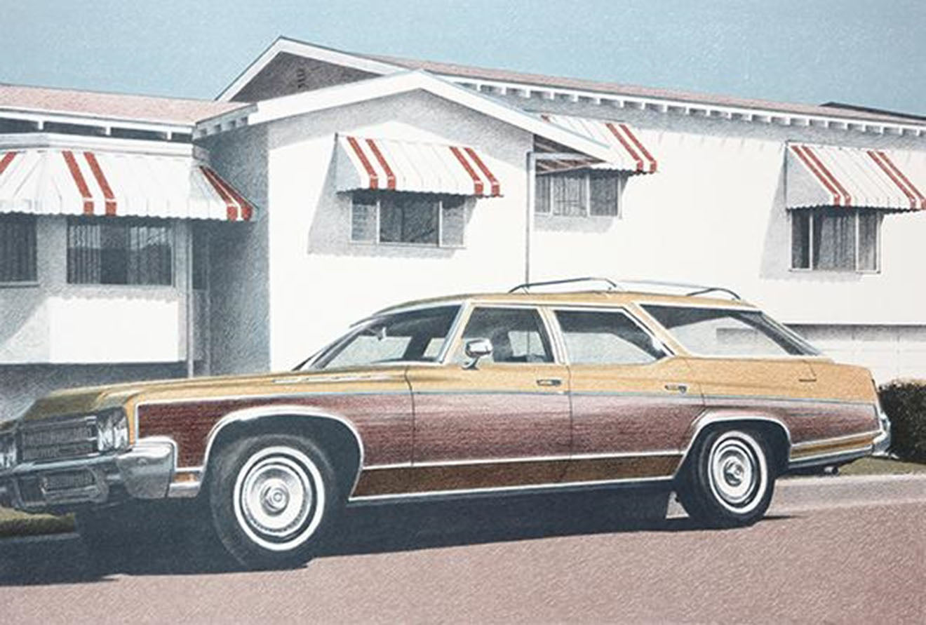 Station Wagon , 1979  by Robert Bechtle