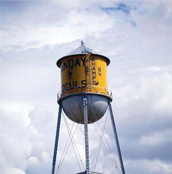 Champs Watertower by ROBERT COTTINGHAM