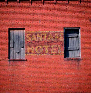 Santa Fe Hotel by ROBERT COTTINGHAM