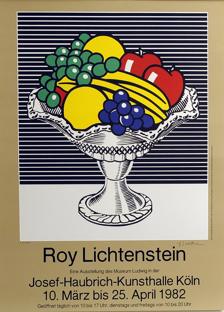 Roy Lichtenstein Chrystal Bowl