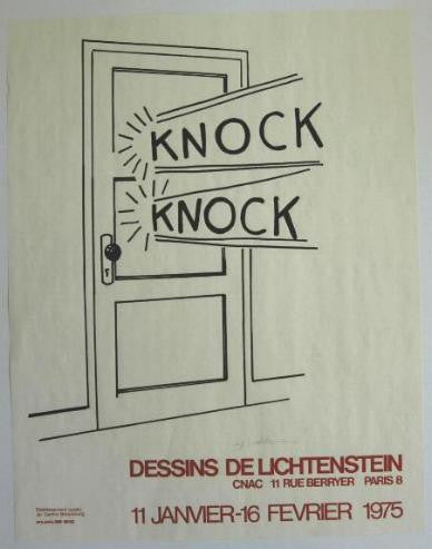 Roy Lichtenstein  KNOCK