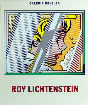 Reflaction of Girl  by  Roy Lichtenstein