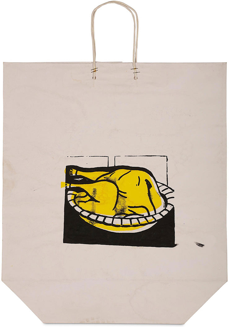 Turkey Shopping Bag  by  ROY LICHTENSTEIN