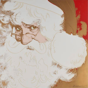 Santa Claus from Myths Portfolio, sig./num.  by ANDY Warhol