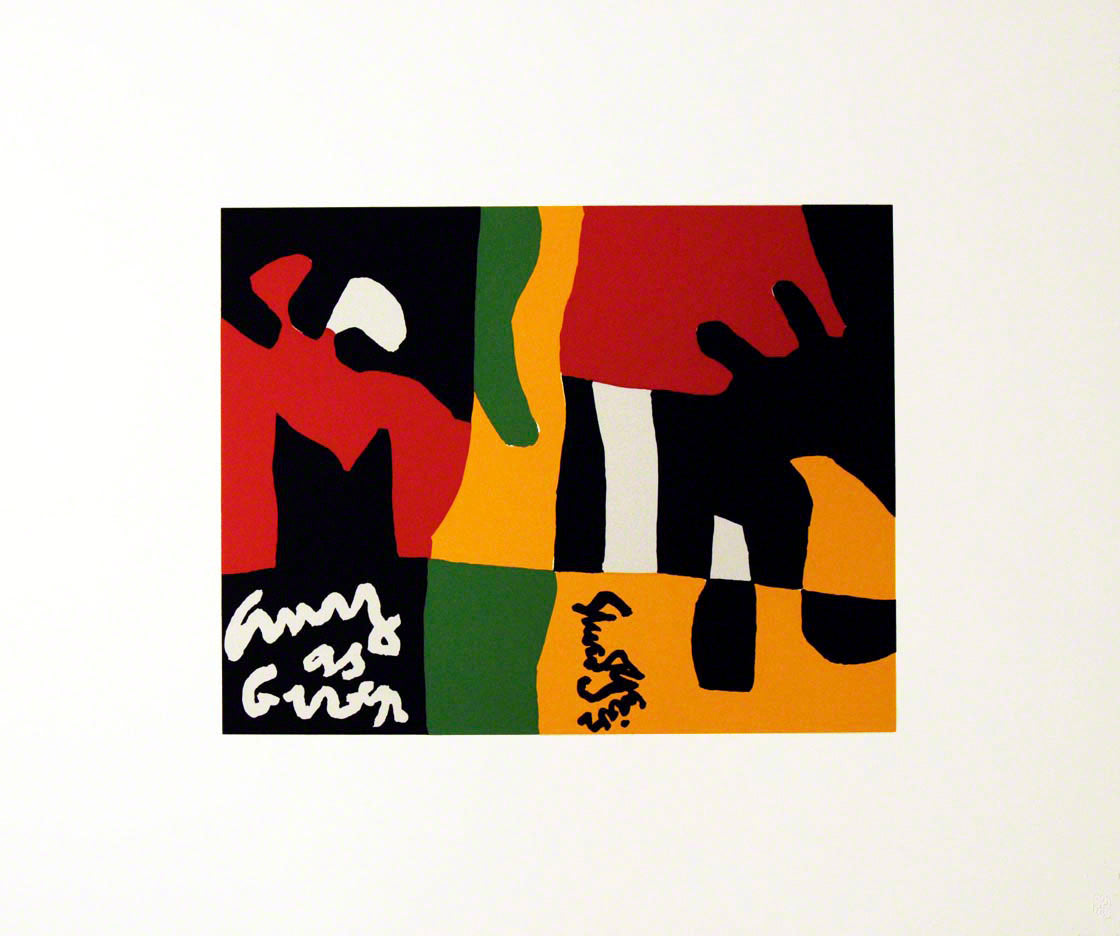 UNTITLED, 1964 by STUART DAVIS