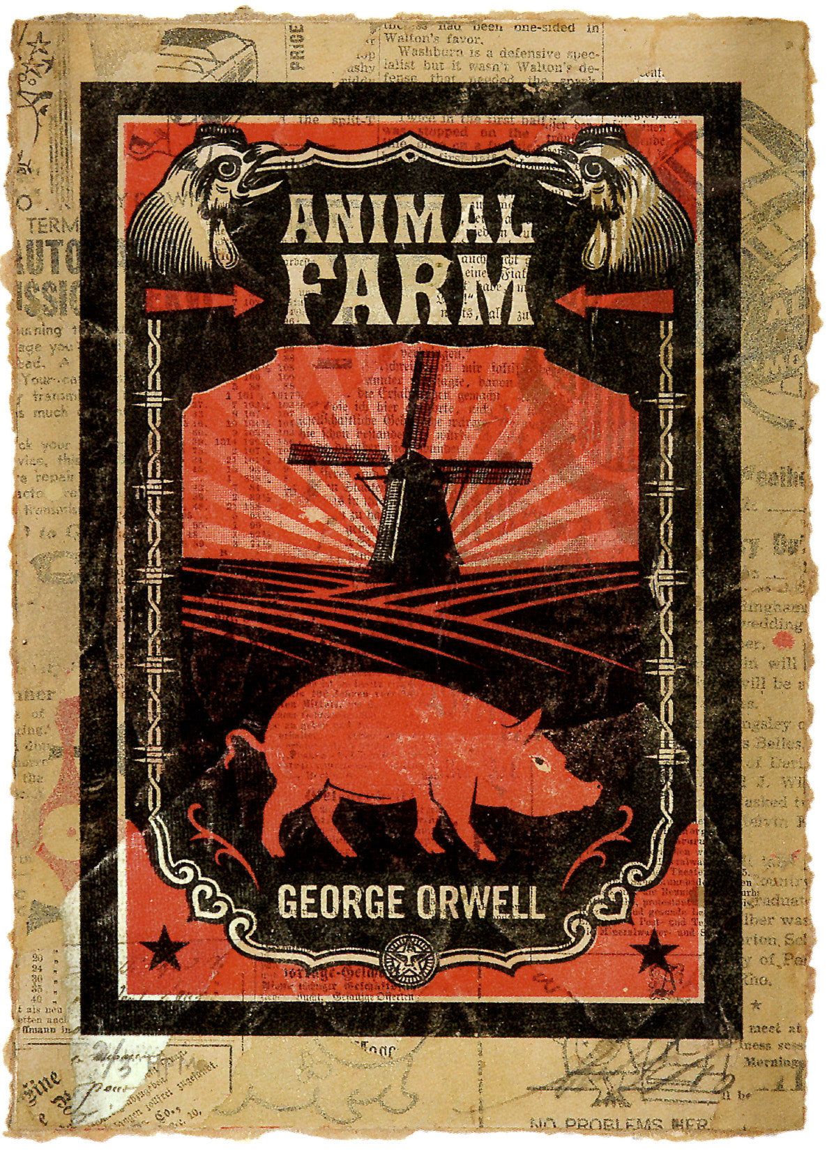 George Orwell's Animal Farm by Frank Shepard Fairey (Obey)