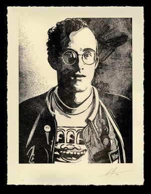 Keith Haring Art is for Everyone  by Frank Shepard Fairey (Obey)