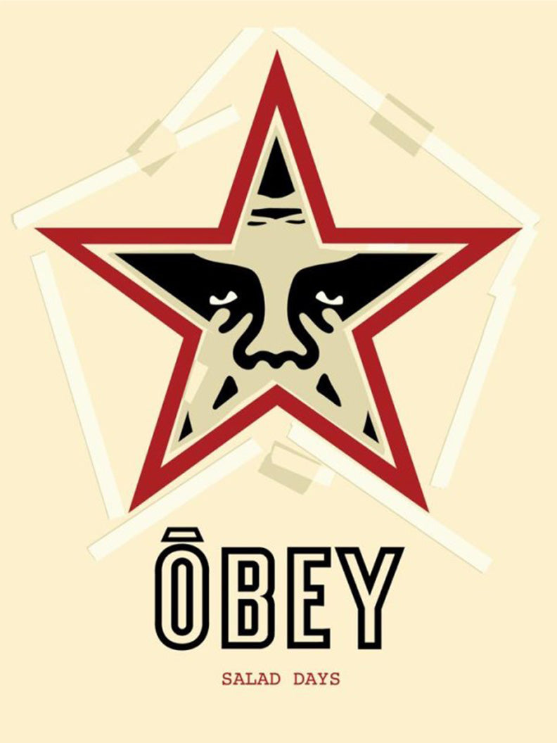 Salad Days  by Frank Shepard Fairey (Obey)