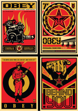 20 YEAR RETRO SERIES SET by Frank Shepard Fairey (Obey)