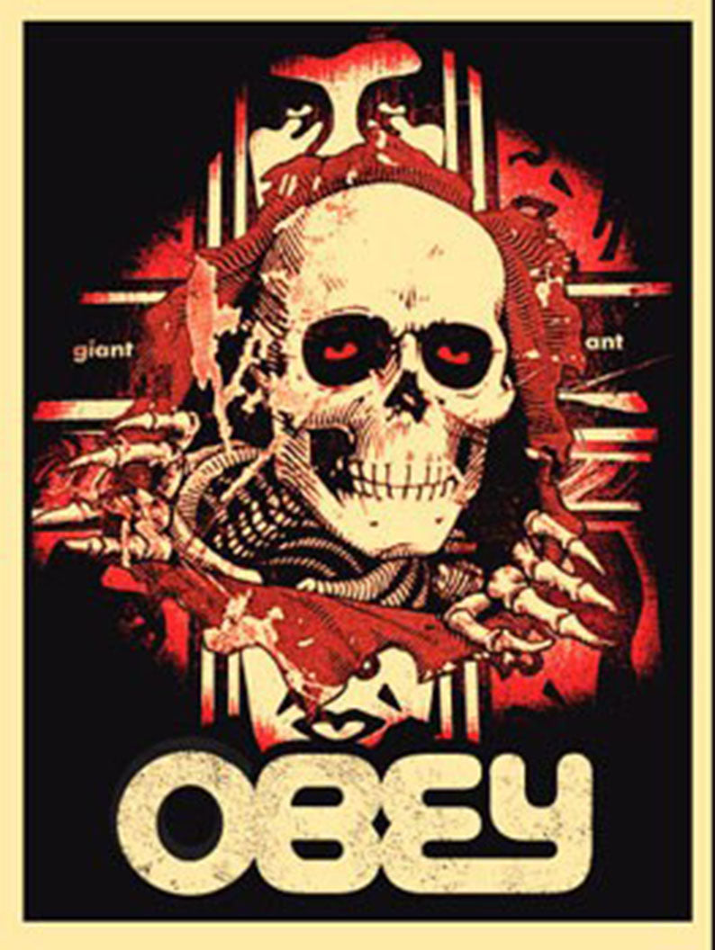 BONES RIPPER by Frank Shepard Fairey (Obey)
