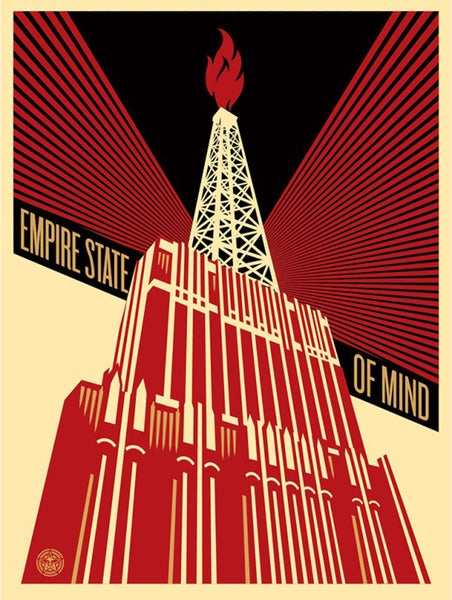 EMPIRE STATE OF MIND by Shepard Fairey