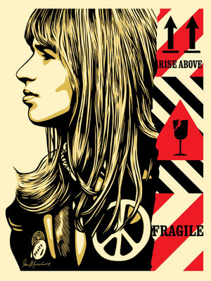 FRAGILE PEACE by Shepard Fairey