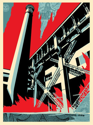 FOSSIL FACTORY by Shepard Fairey