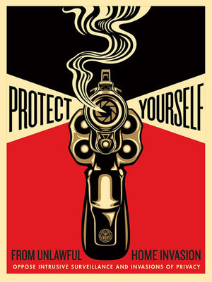 HOME INVASION 2   by Frank Shepard Fairey (Obey)
