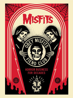 HORROR BUSINESS CRYPT by Frank Shepard Fairey (Obey)