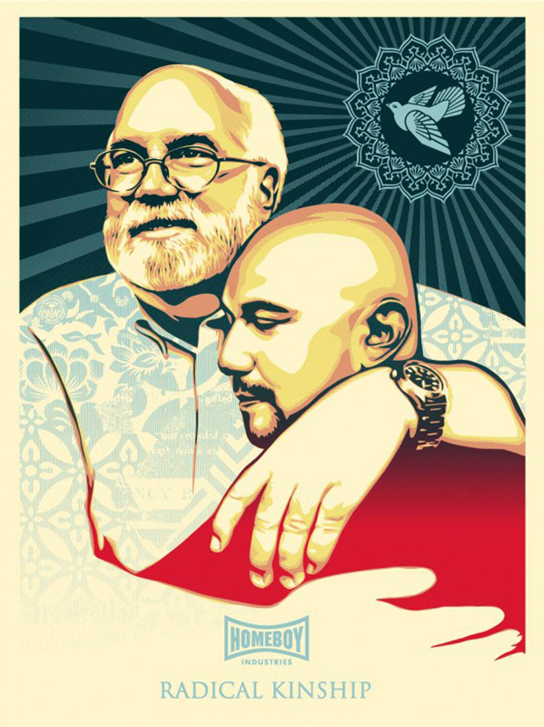 RADICAL KINSHIP  by Frank Shepard Fairey (Obey)