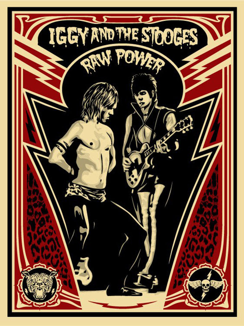 RAW POWER by Frank Shepard Fairey (Obey)