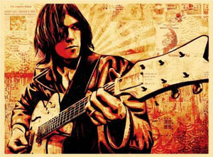 NEIL YOUNG  by Frank Shepard Fairey (Obey)