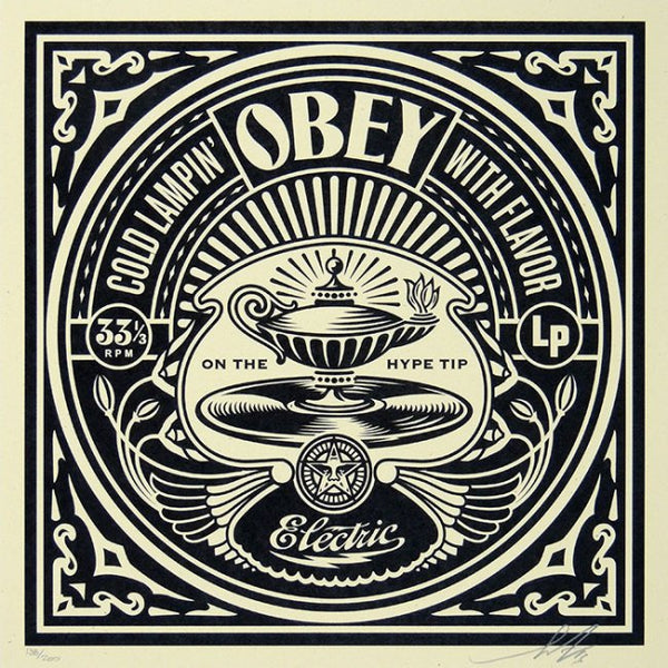 COLD LAMPIN  by Frank Shepard Fairey (Obey)