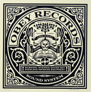 FUTURE SOUND  by Frank Shepard Fairey (Obey)