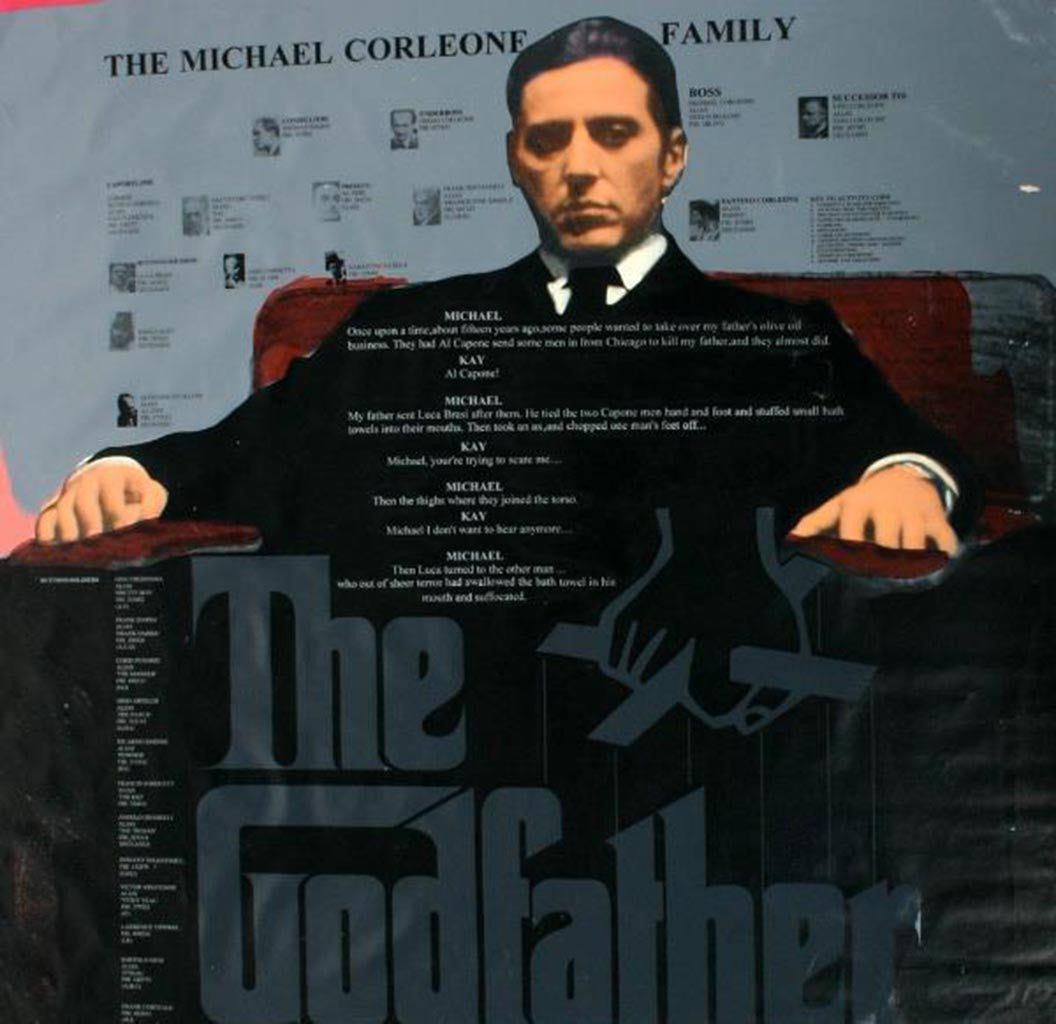 THE GODFATHER by STEVE KAUFMAN