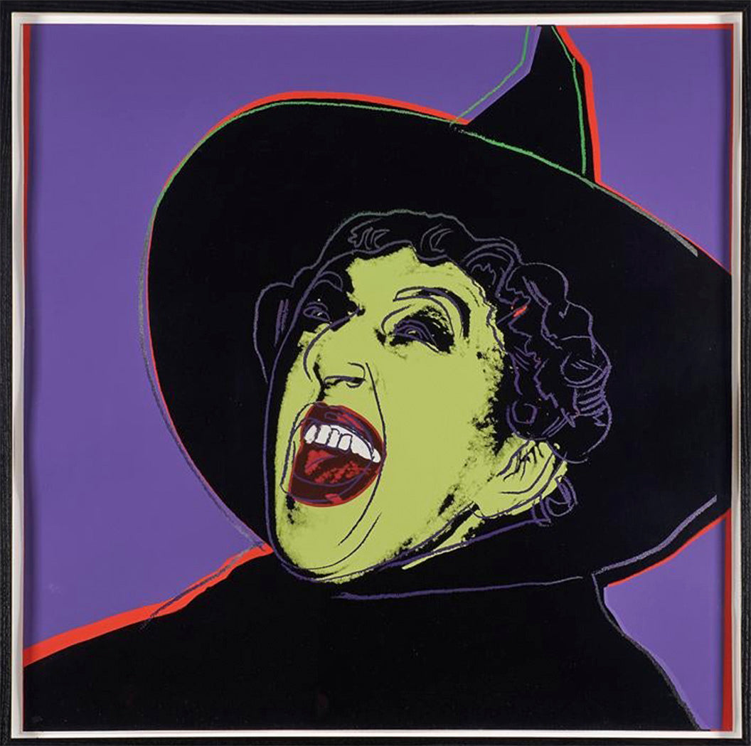 The Witch sig./num. from Myths Portfolio by ANDY Warhol