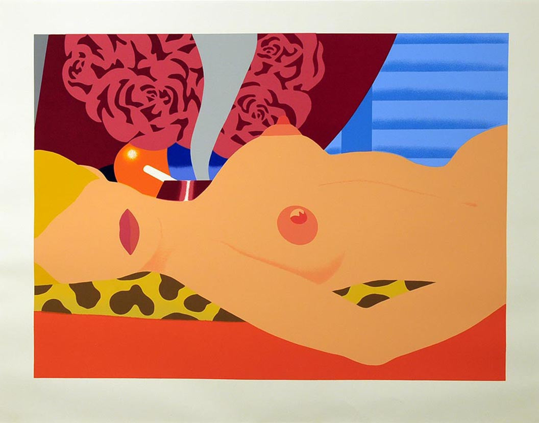 Nude (for Sedfre) 1969,  by TOM WESSELMANN