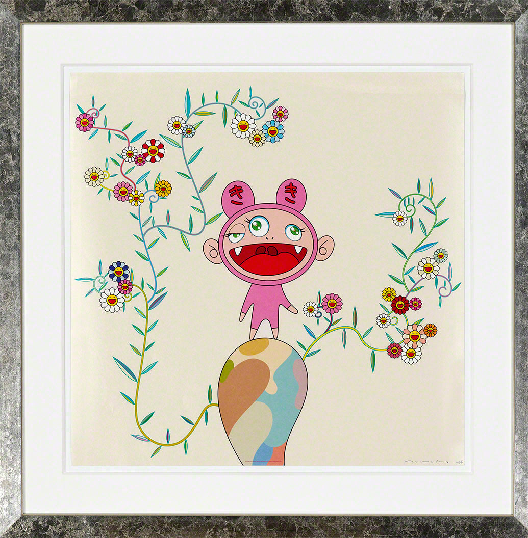 KIKI WITH MOSS 2004  by  Takashi MURAKAMI