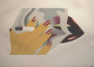 Smoker 1976 by TOM WESSELMANN