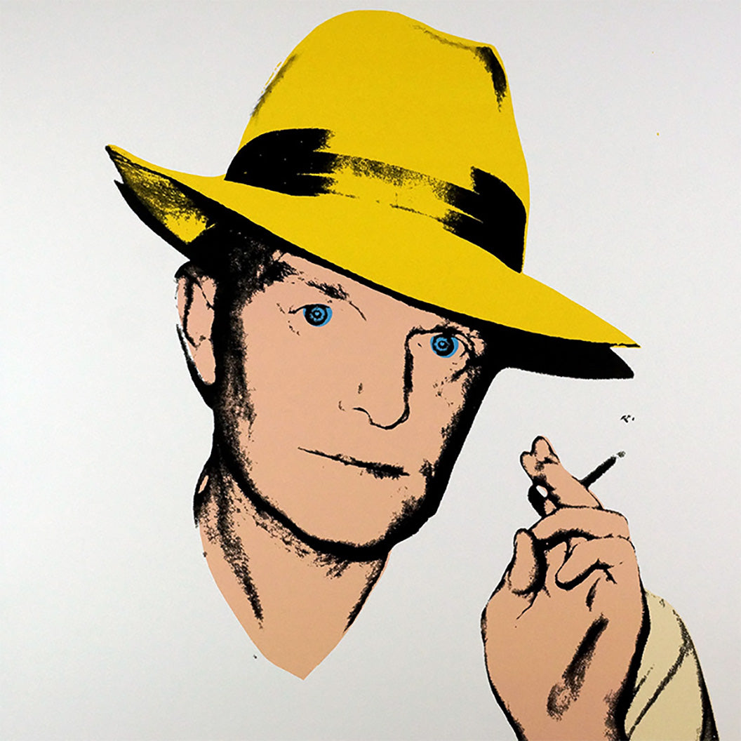 Truman Capote, YELLOW 1984 by ANDY Warhol