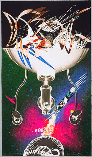 Where the Water Goes, from Welcome to the Water Planet, 1989  by James ROSENQUIST