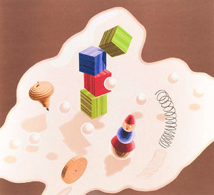 Untitled,  toys 1986 by Vasarely, Victor
