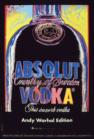 Absolut Vodka 2015 2950/5900 by Andy Warhol