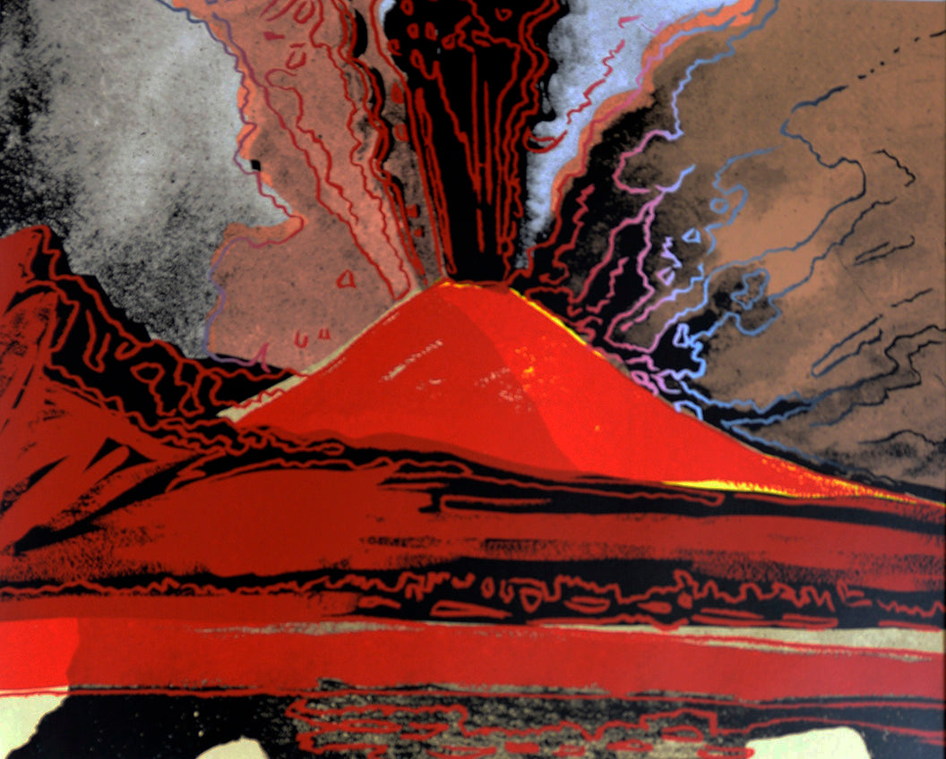 Vesuvius, 1985 by ANDY Warhol