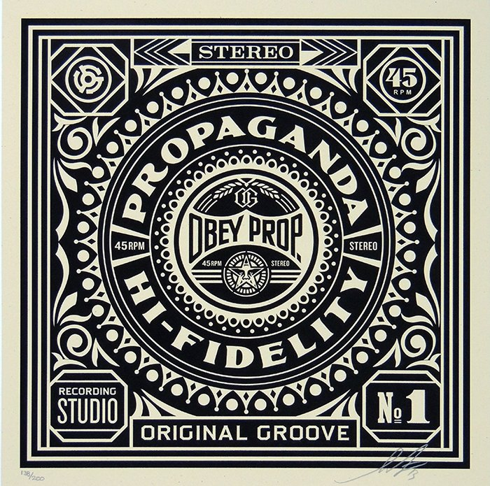 ORIGINAL GROOVE  by Frank Shepard Fairey (Obey)