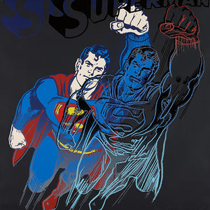 Superman from Myths Portfolio by Andy Warhol