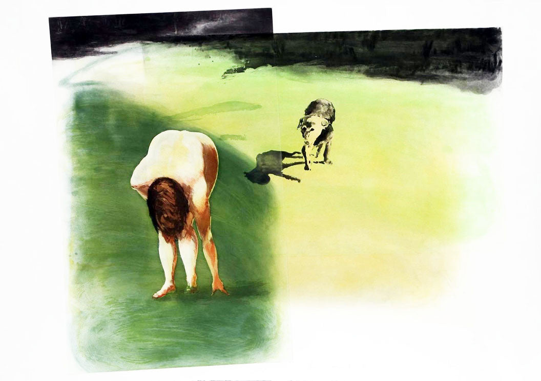 Dog 1989 by Eric Fischl